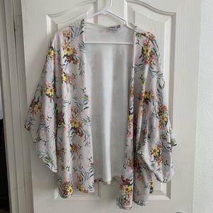 ASOS Floral Sweater Kimono